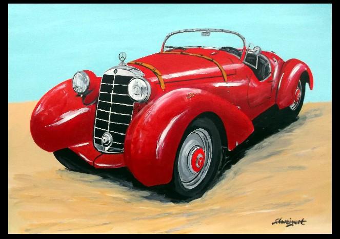 Mercedes 170vs Spohn 1937