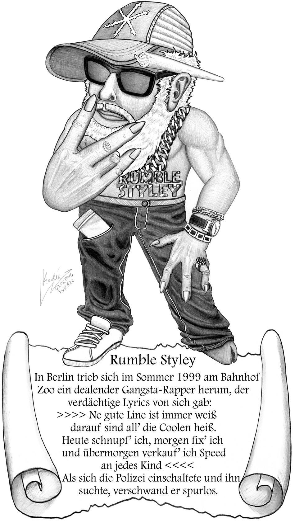 Rumble Styley (Kadée 2016 / KVN 822)