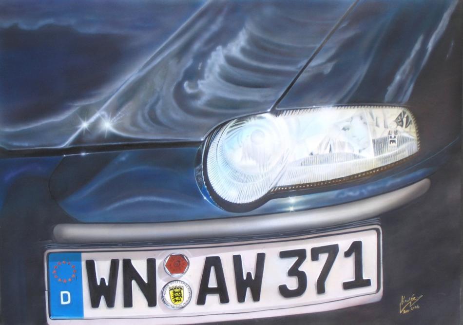 Alfa 147 (2006) Airbrush-Mischtechnik KVN 313
