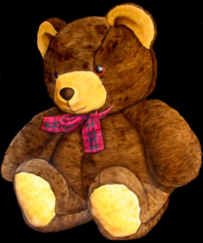 Teddy (2008) Airbrush-Mischtechnik KVN 451