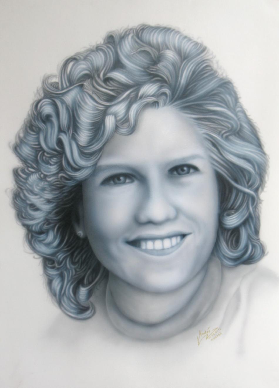 Susann (2012) Airbrush-Portrait KVN 662