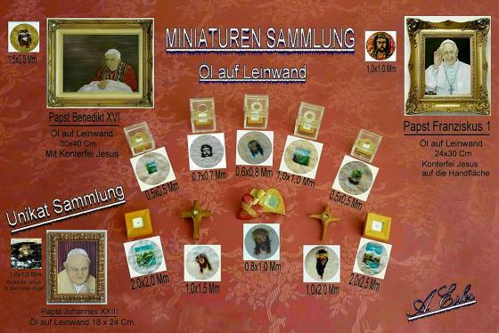 MINIATUREN SAMMLUNG