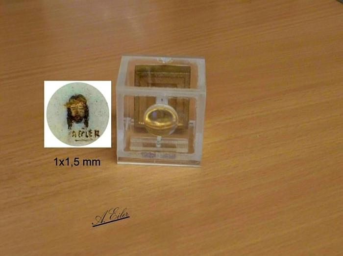 Konterfei Jesus (Miniatur) 1x1 mm