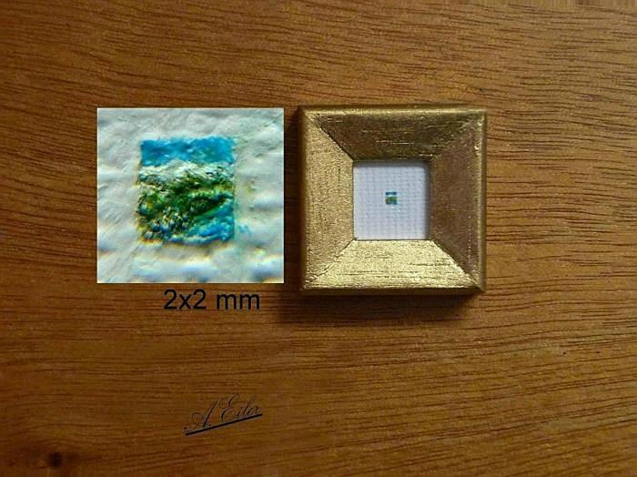 Landschaft - Miniatur 2x2 mm