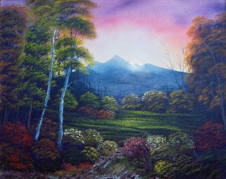 Sonnenstrahlen im Tal