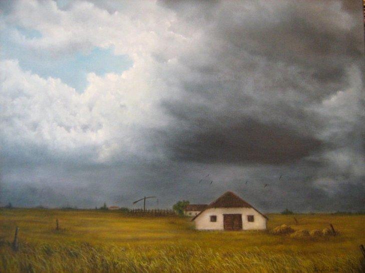 Puszta vor dem Sturm