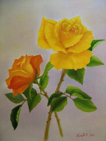 Zwei Rosen