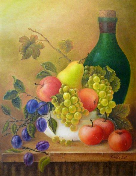 Obst und Wein