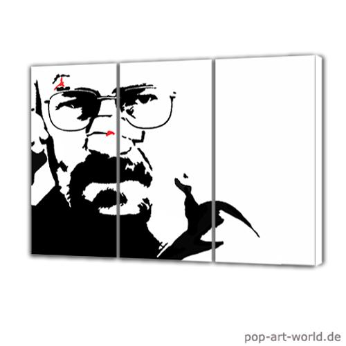 Walter White - Breaking Bad - Pop Art