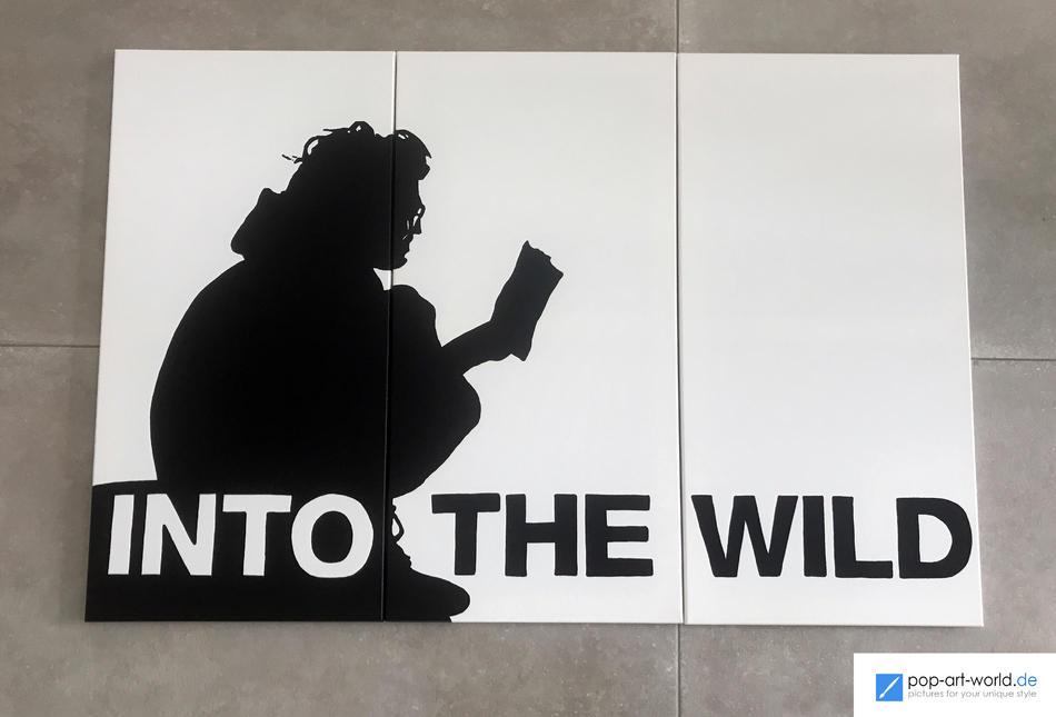Into the Wild - Kunstwerk