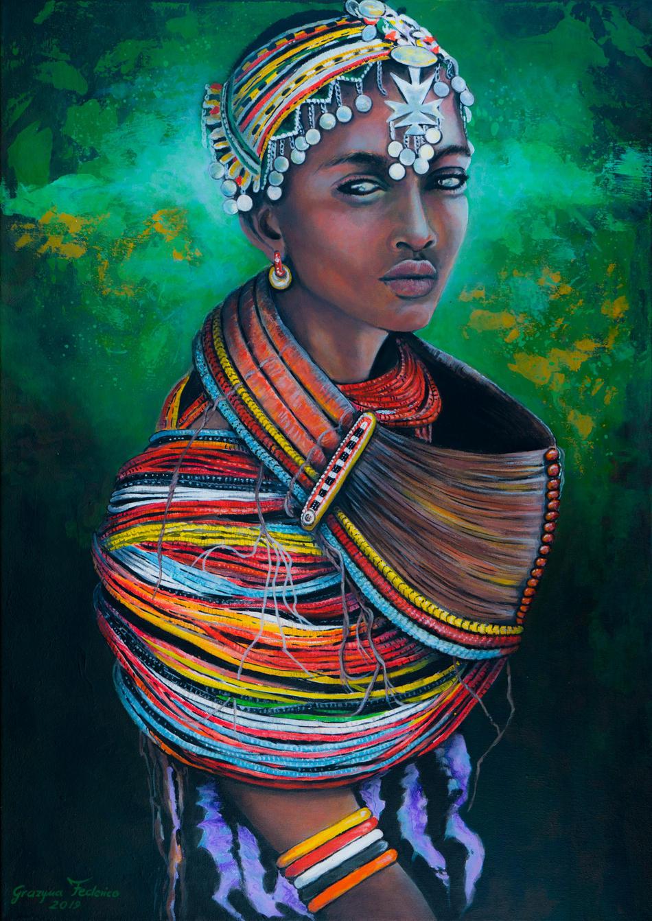 Die Afrikanerin