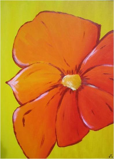 comic flower