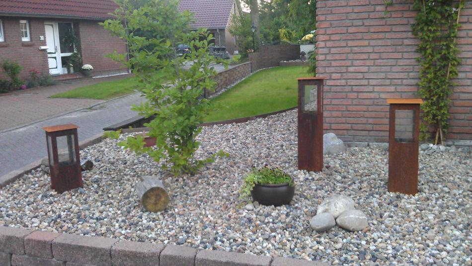 Handgefertigte Gartenlamepen