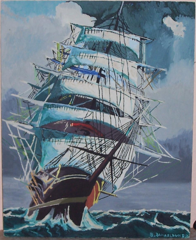 Segelschiffe Auf Dem Meer