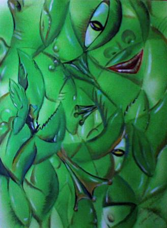 Grüne Kreatur