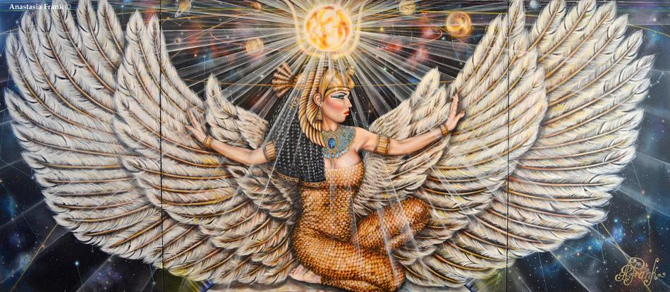 The Mother of the Pharaohs.Isis