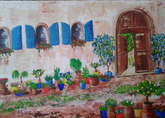 Mediterranean Flower Pots Terracotta