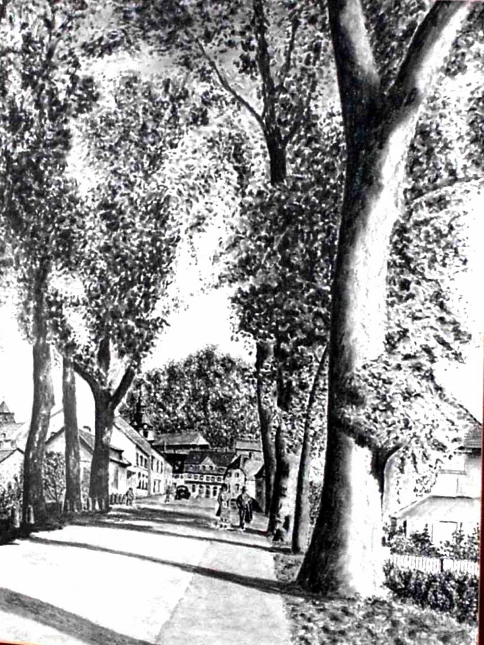 Saarbrückerstrasse um 1950