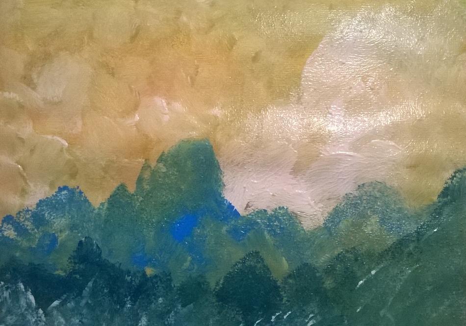 Einsame Berge