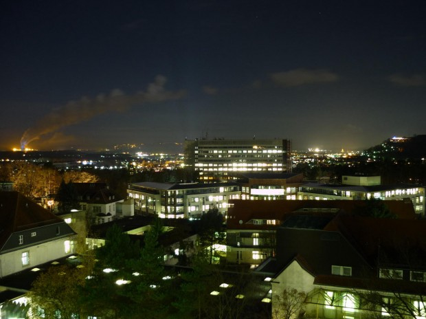 Homburg bei Nacht