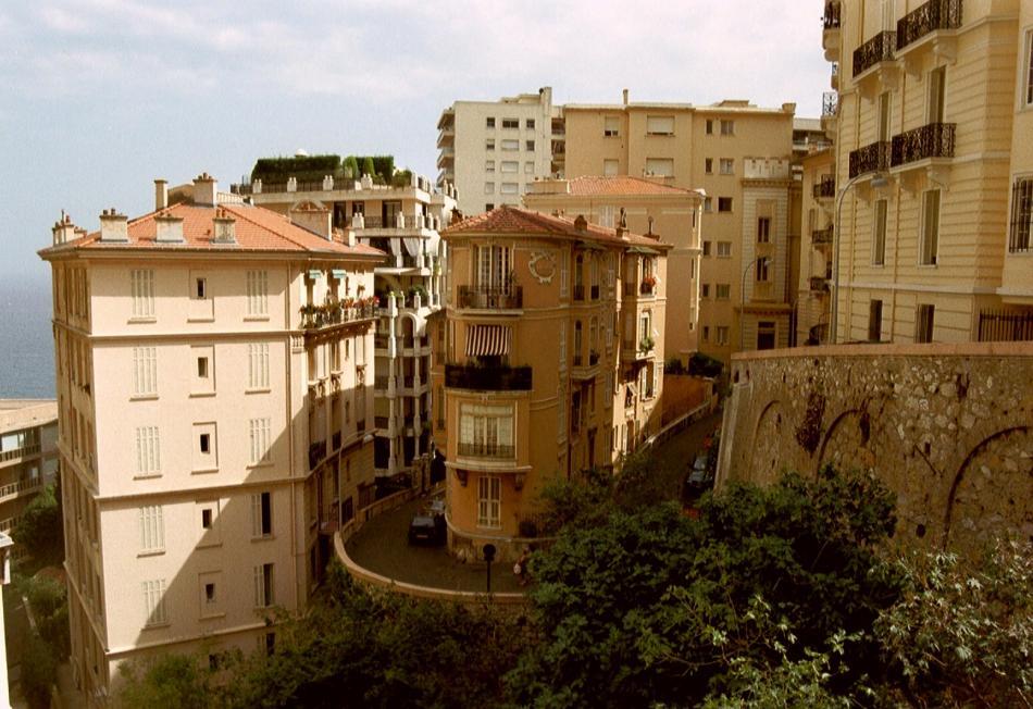 Monaco, nicht ganz vorne