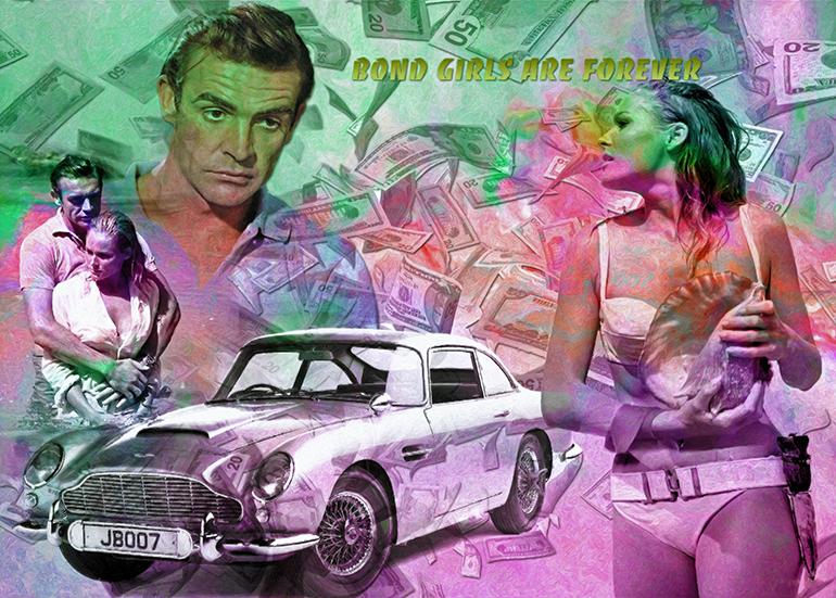 Ursula Andres / Bond / Aston Martin DB5