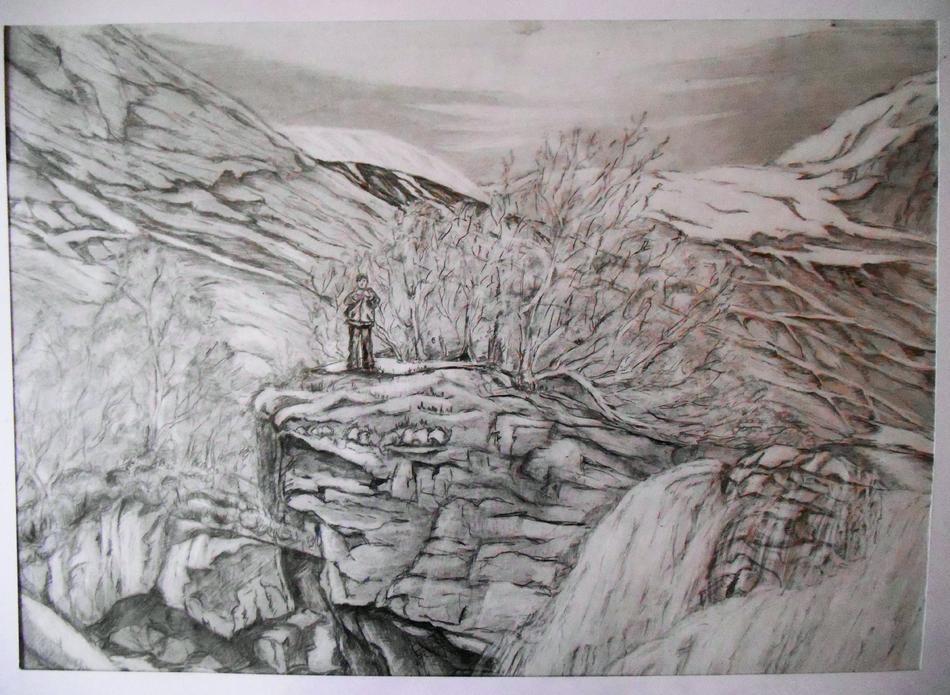 Jostedalen Huldrefossen