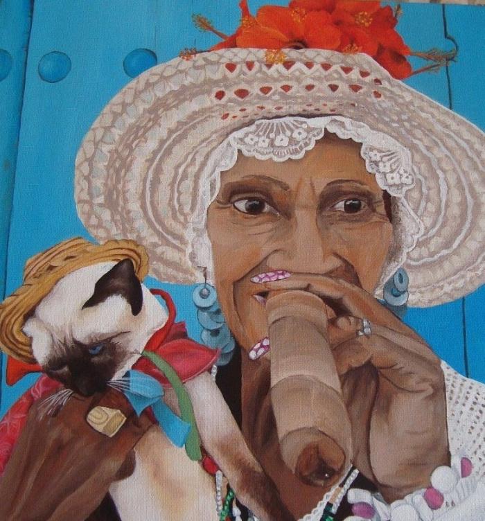 Kubanische Dame