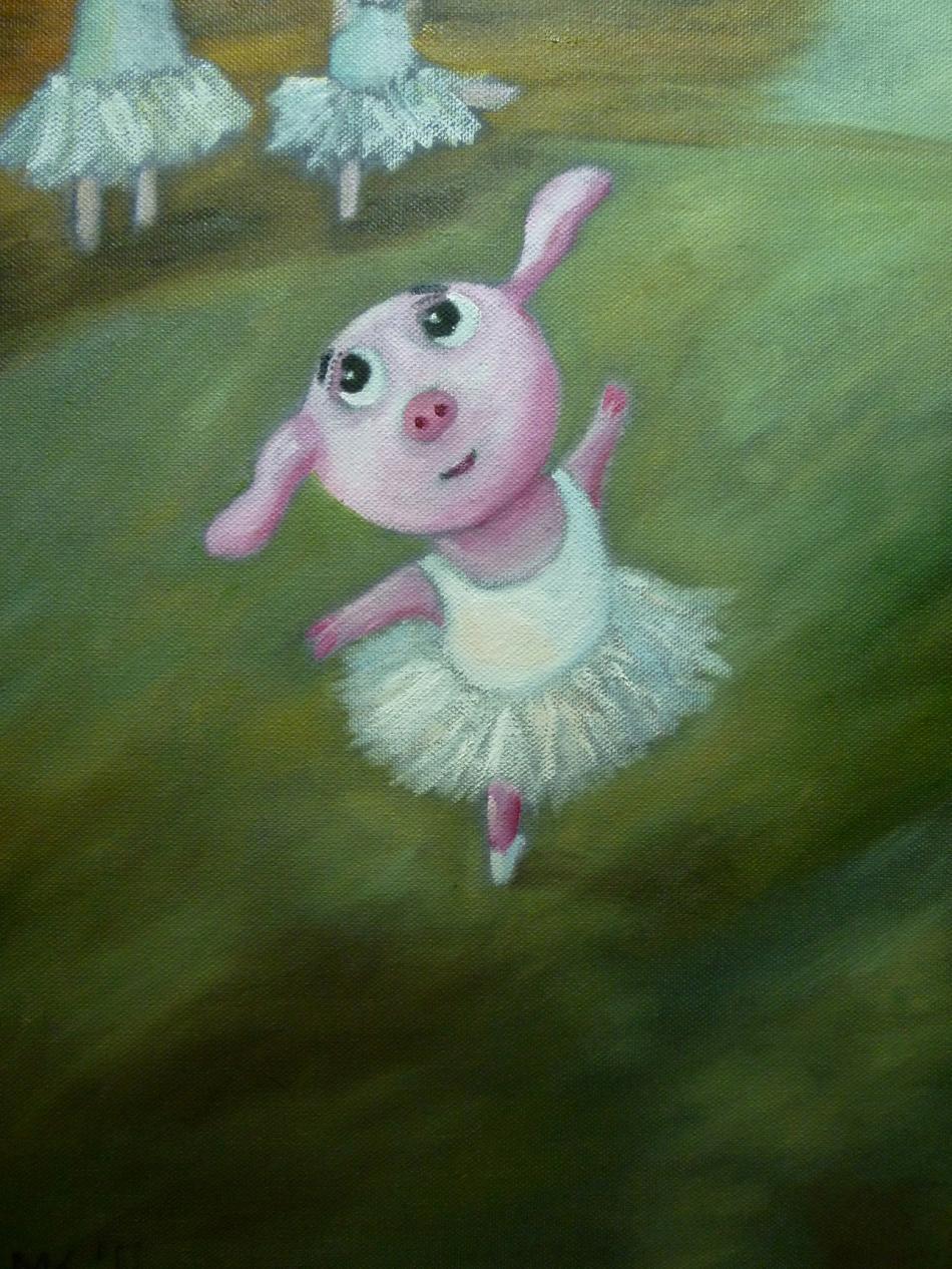 In der Schweinchen Tanzschule