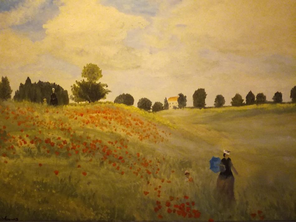 Mohnfeld bei Agetuil (Monet)