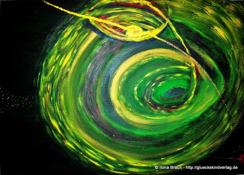 Kosmos grün