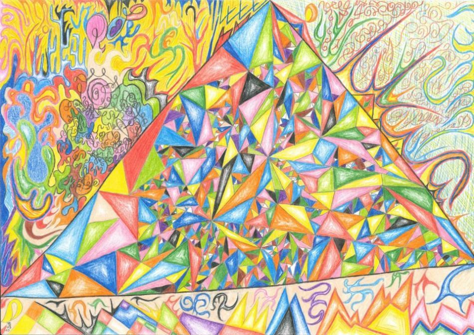Pyramide - Kaleidoskop