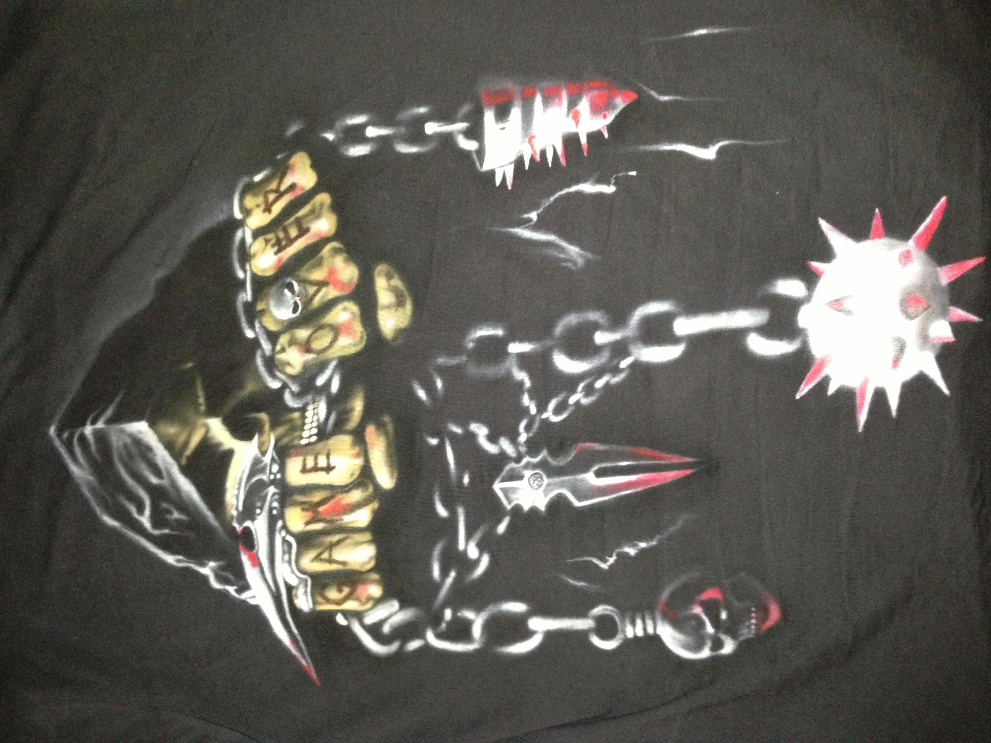 riper auf t-shirt