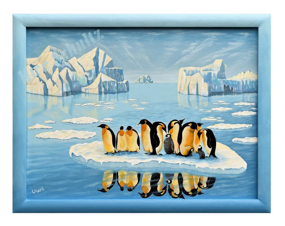 Eisschmelze/Pinguine
