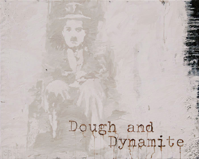 Dough and Dynamite - Portrait of Charly Chaplin