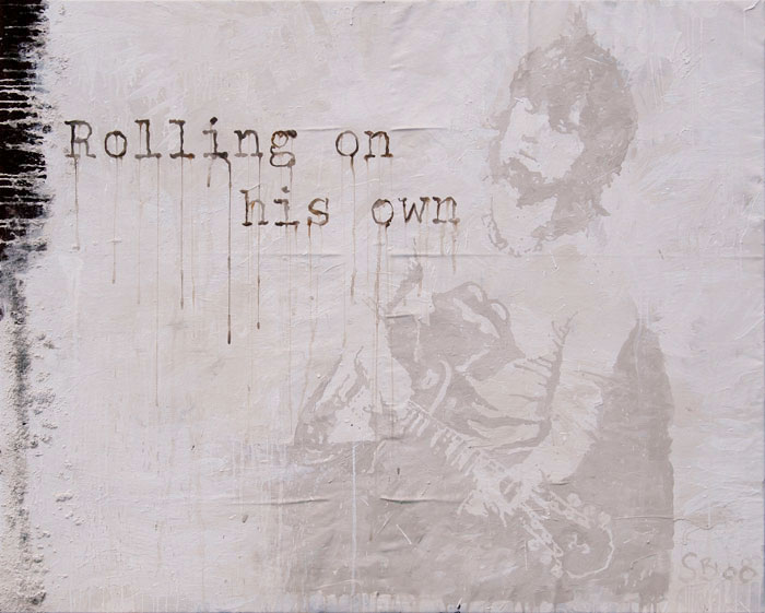 Rolling on his own - Portrait of Keith Richards