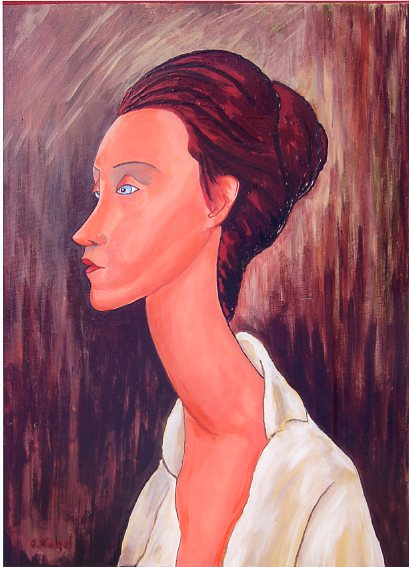 Lunia Czechowka - nach Modigliani