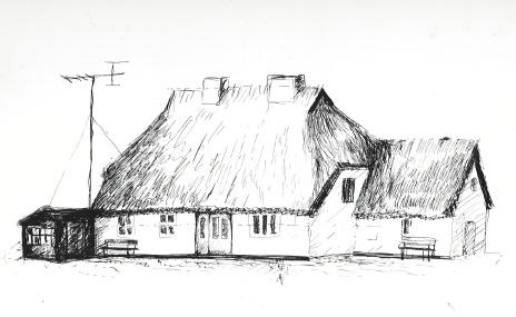 Haus auf Hiddensee (Neuendorf)