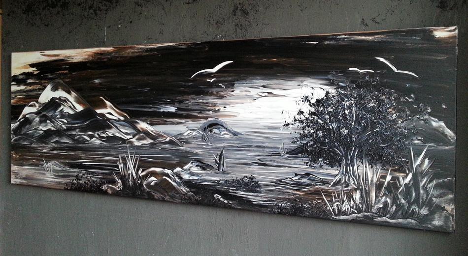 Abstrakte Malerei GONZO V.