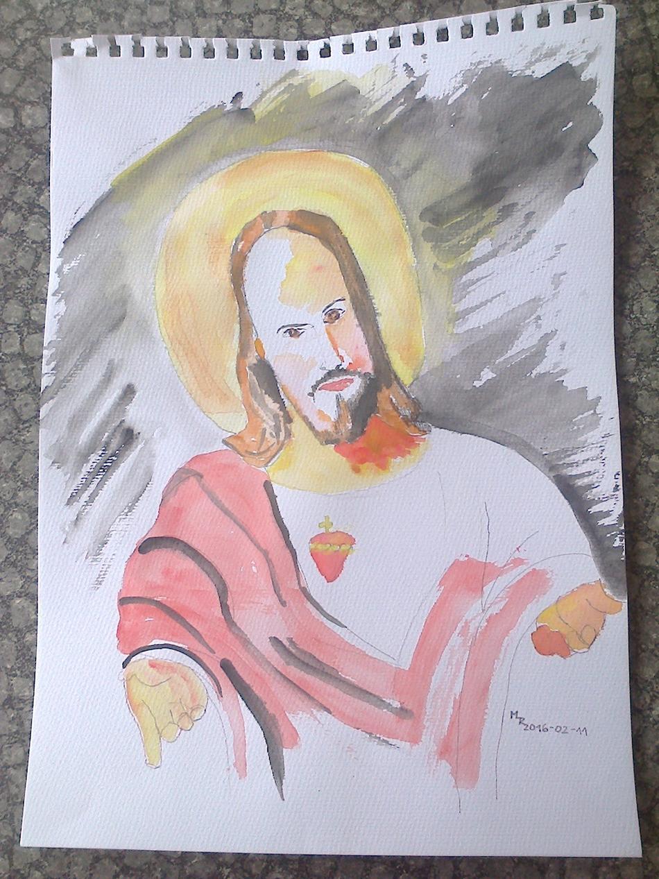 Herz Jesu Darstellung