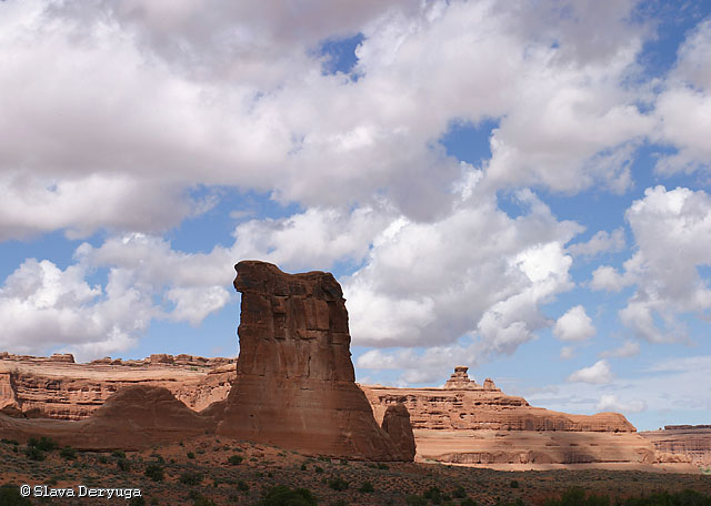The Sheeprock (Arches National Park, USA)