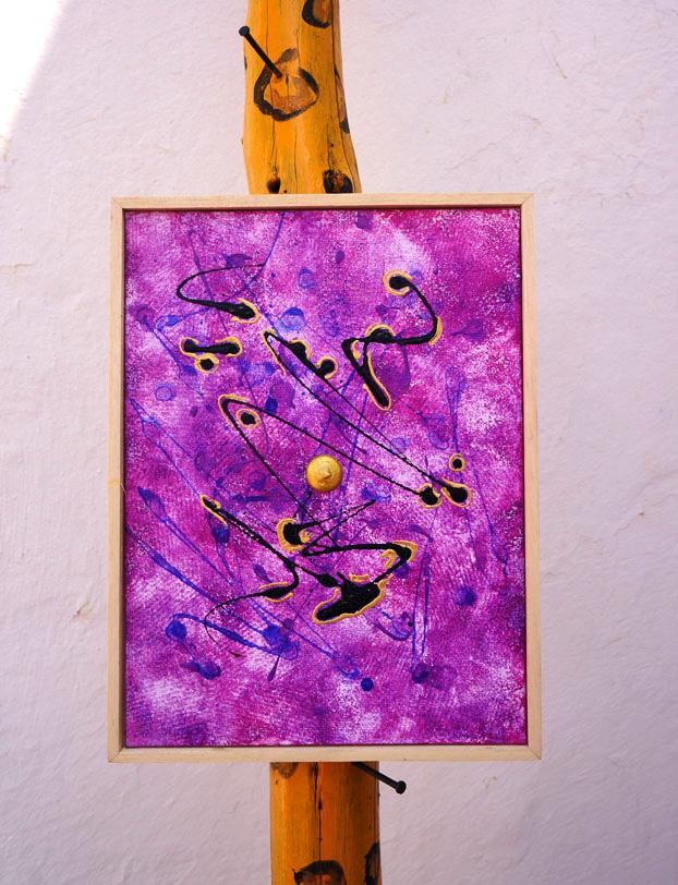 hidden signs purple