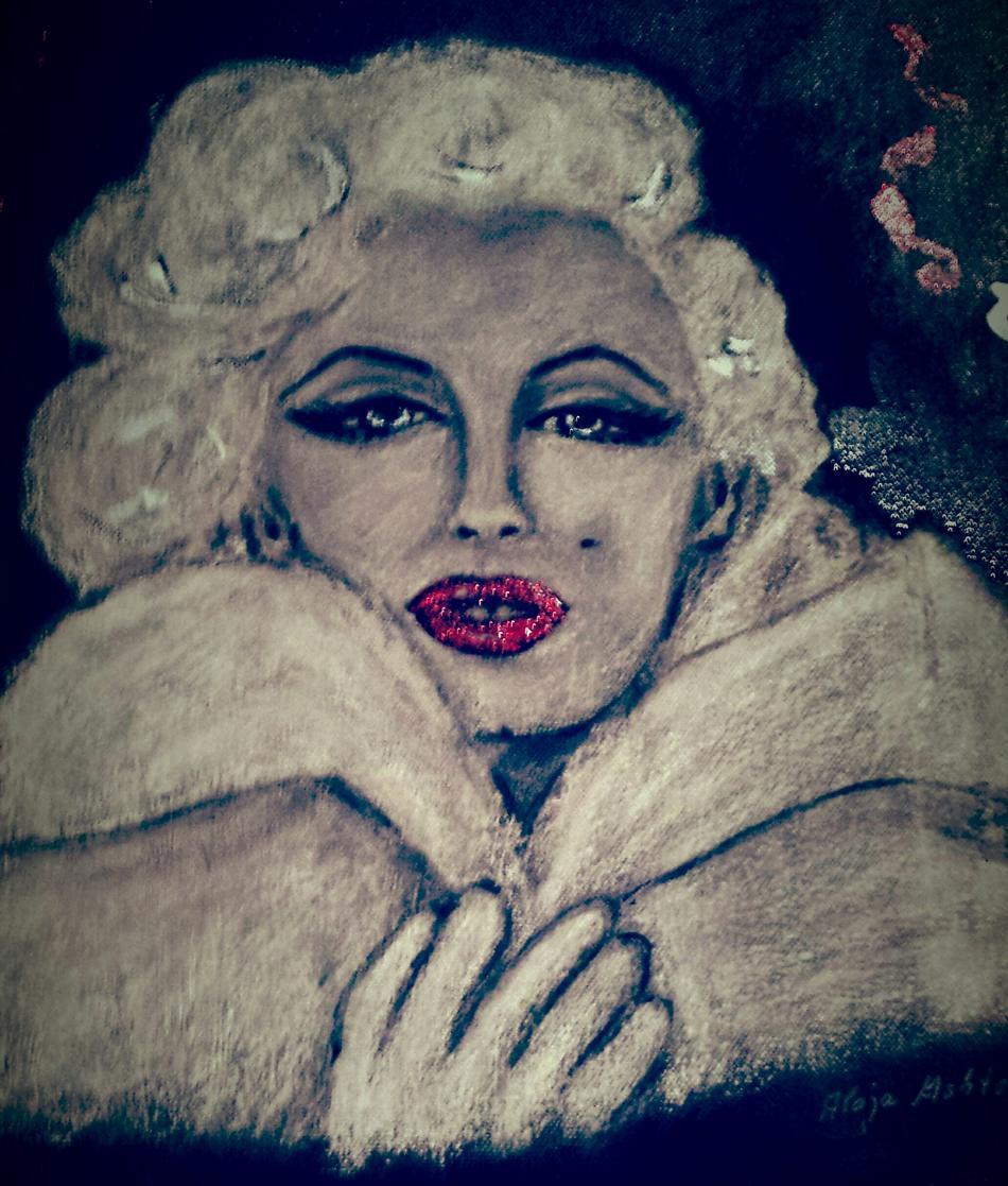 Marilyn Lips Red