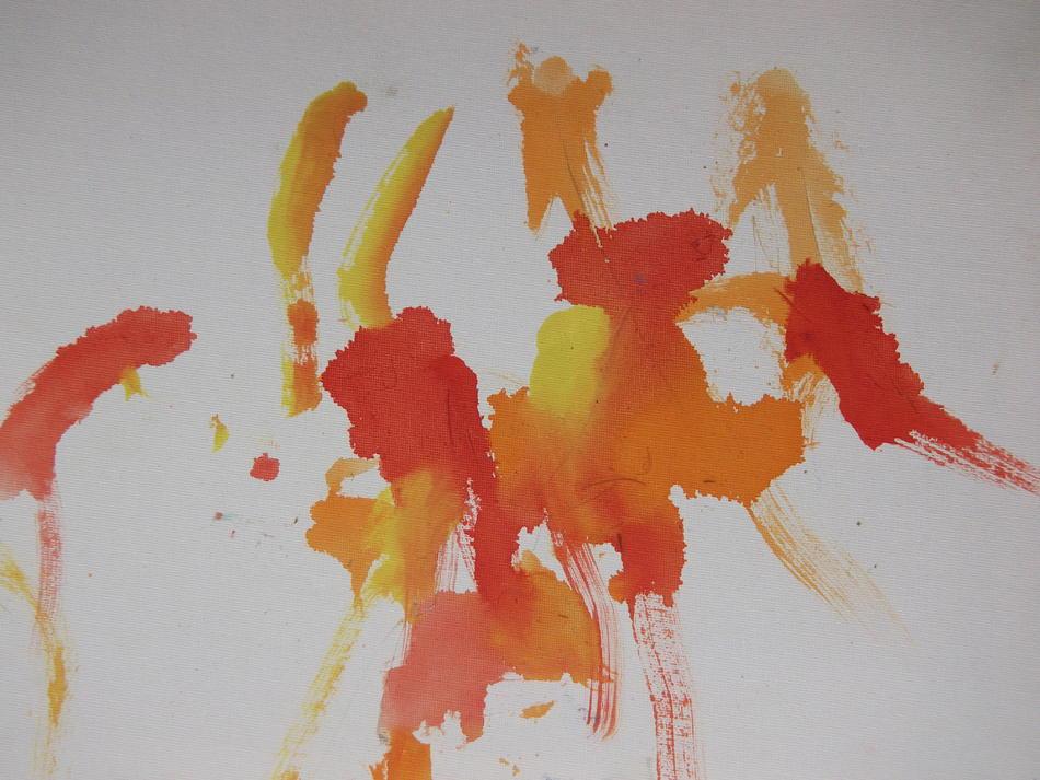 Bild der Eselin Levina orange