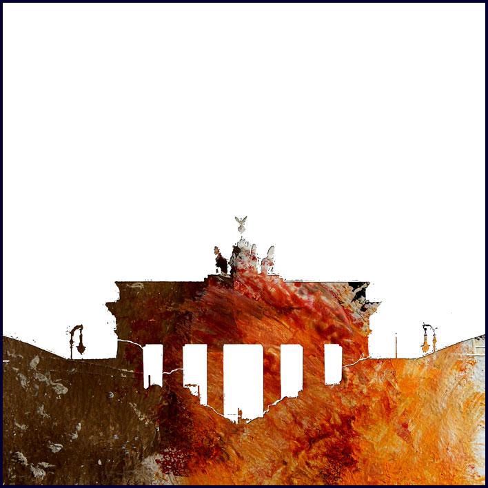 Berlin '2008, 90x90 cm
