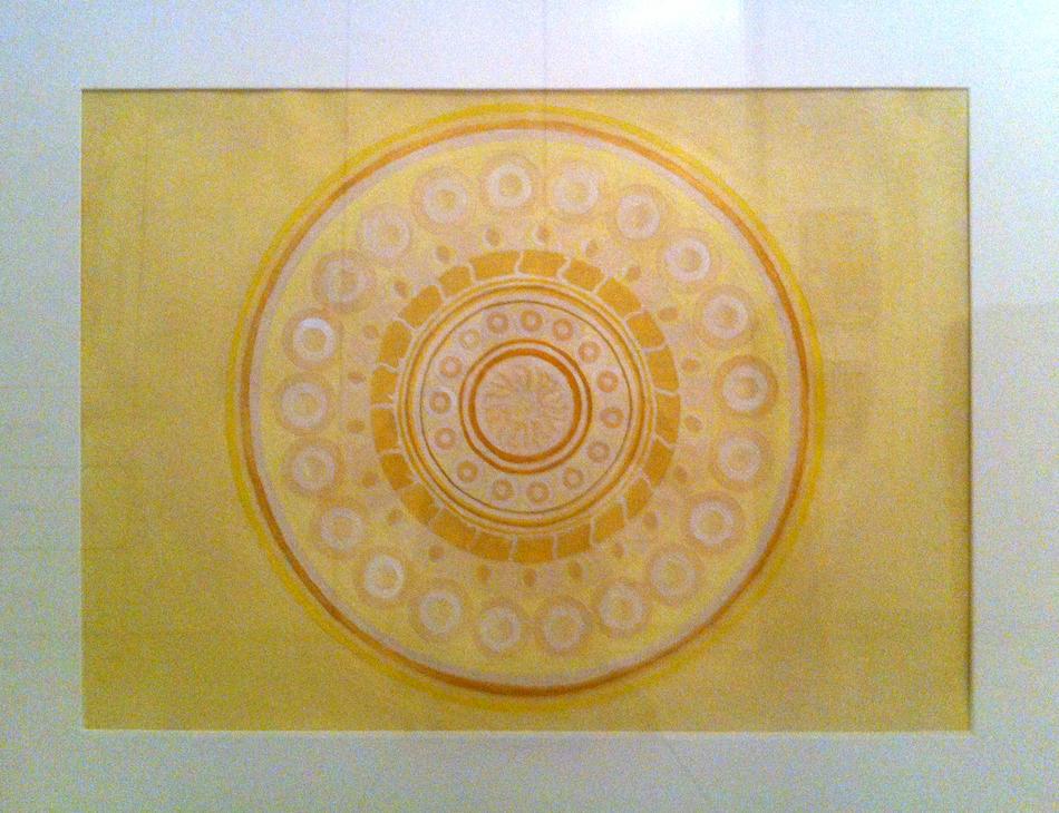 Mandala Gelb