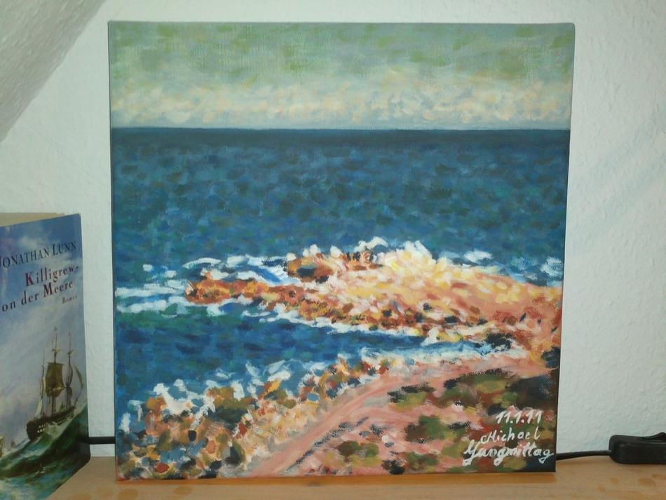 Claude Monet Studie