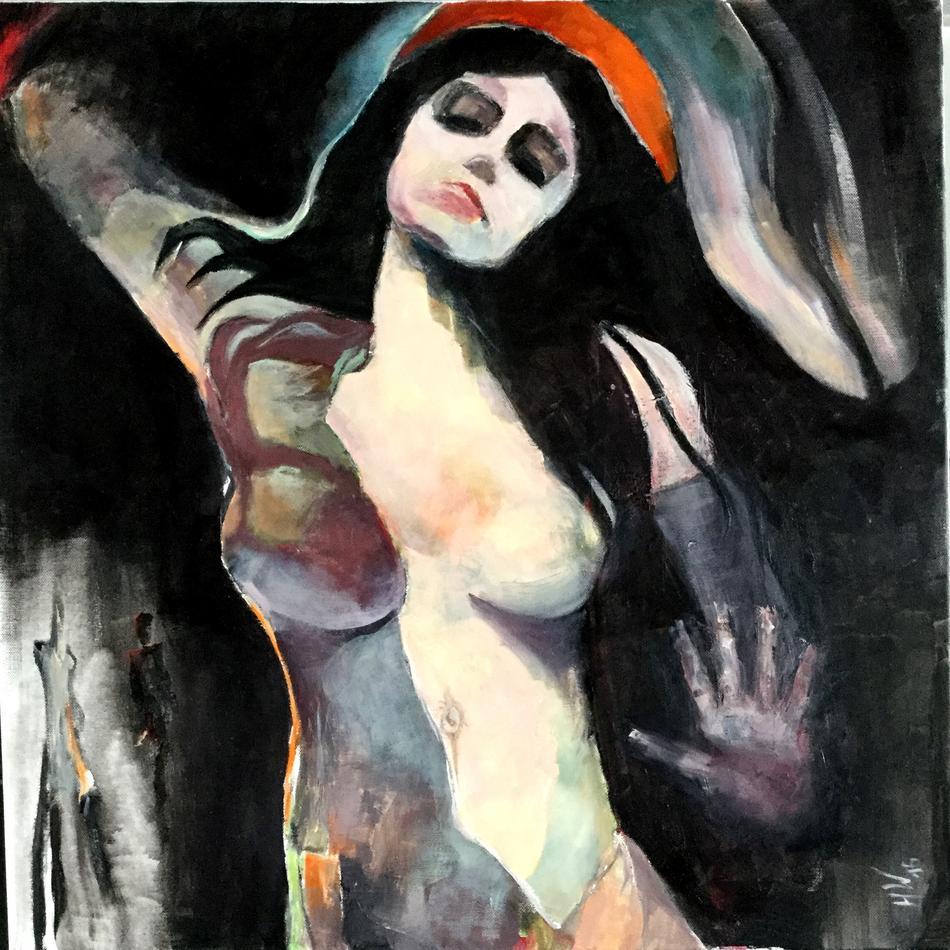 Variation zu einem Motiv von E. Munch
