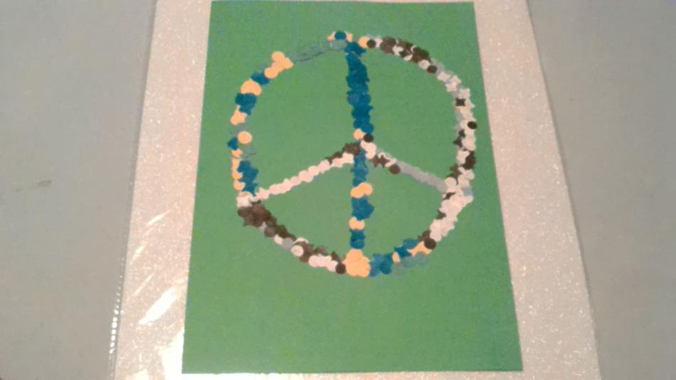 Confettibild Peace