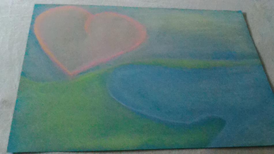 Heartsun and lake